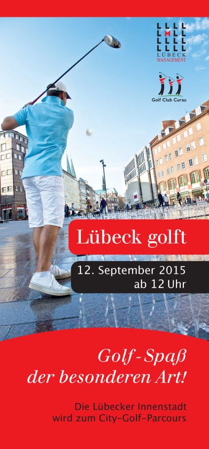 Lübeck golft Flyer zum Download