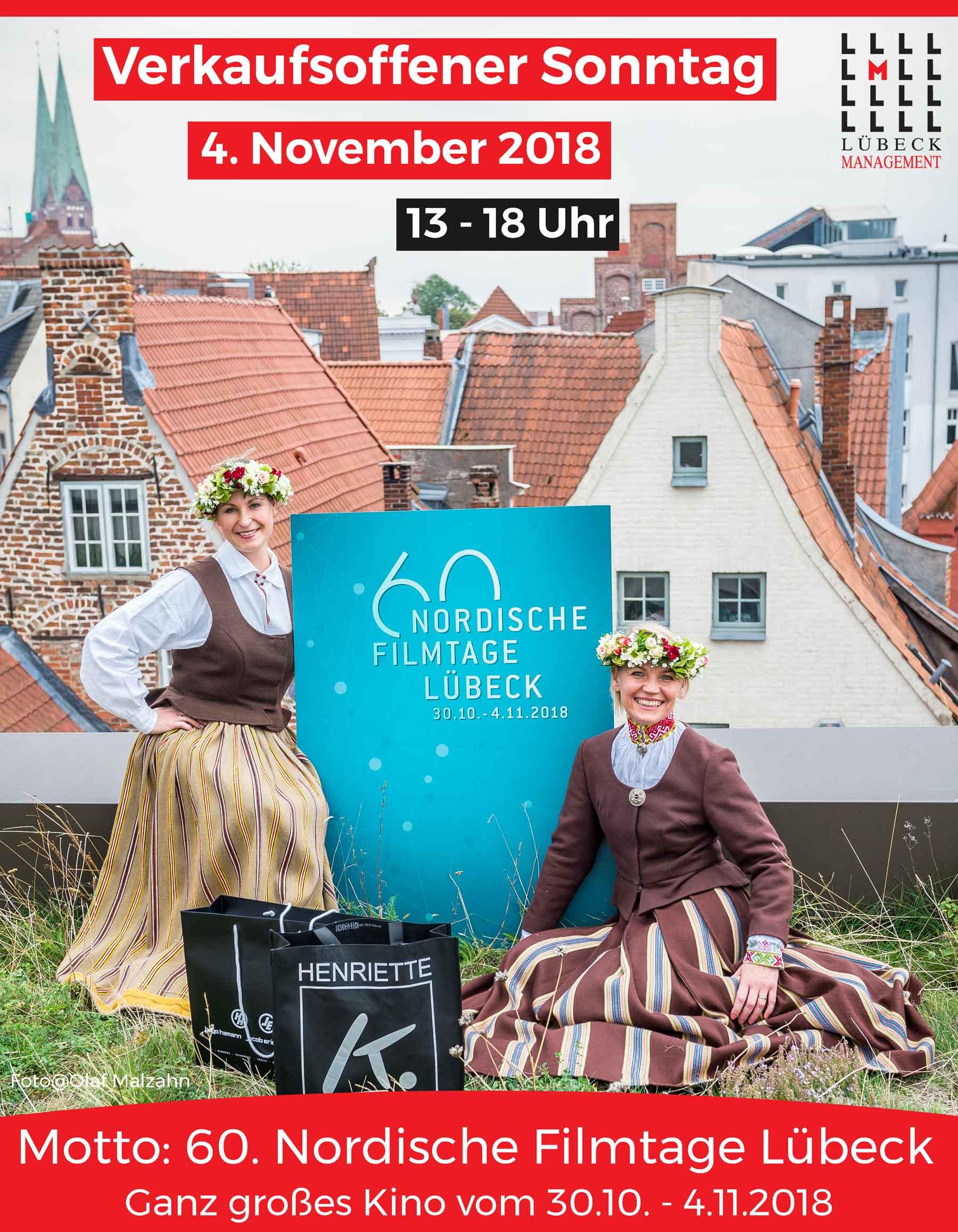 Verkaufsoffener Sonntag In Lubeck Am 4 November 2018 Teilnehmende